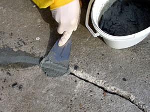 Repararea crapaturilor si a altor defecte din beton