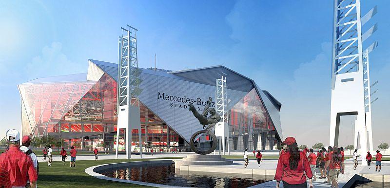 Atlanta Falcons Stadium impermeabilizat cu Penetron