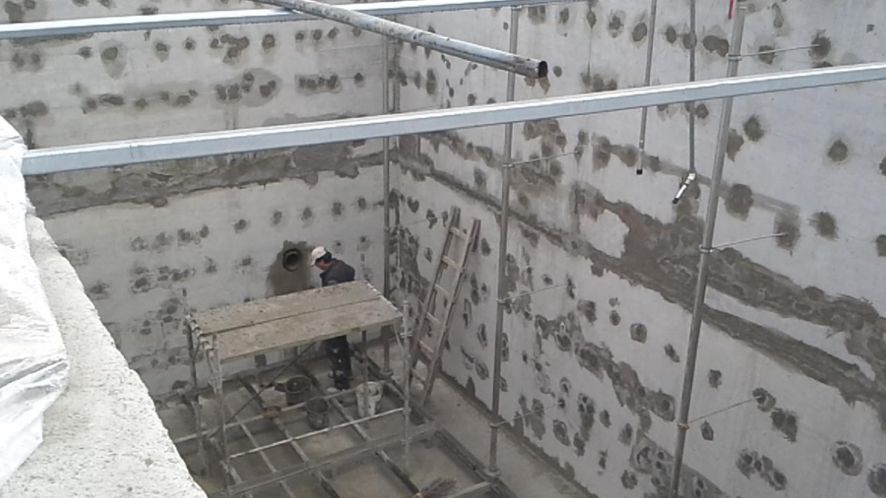Reparatie structura de beton cu PENETRON