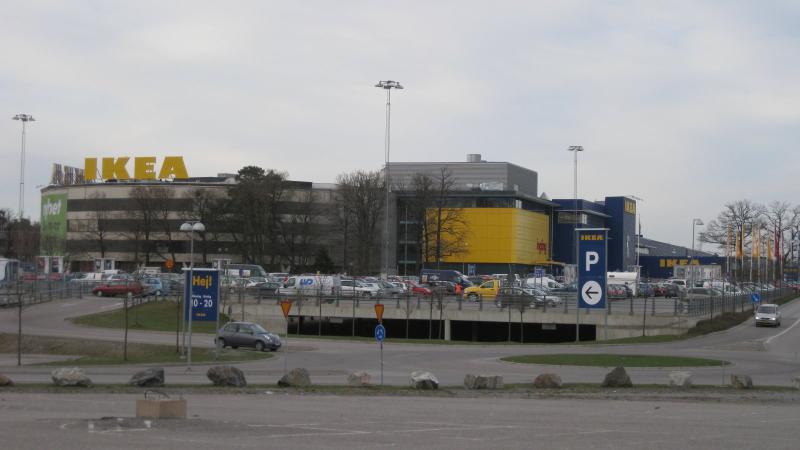Hidroizolarea spatiilor de parcare la IKEA, Suedia