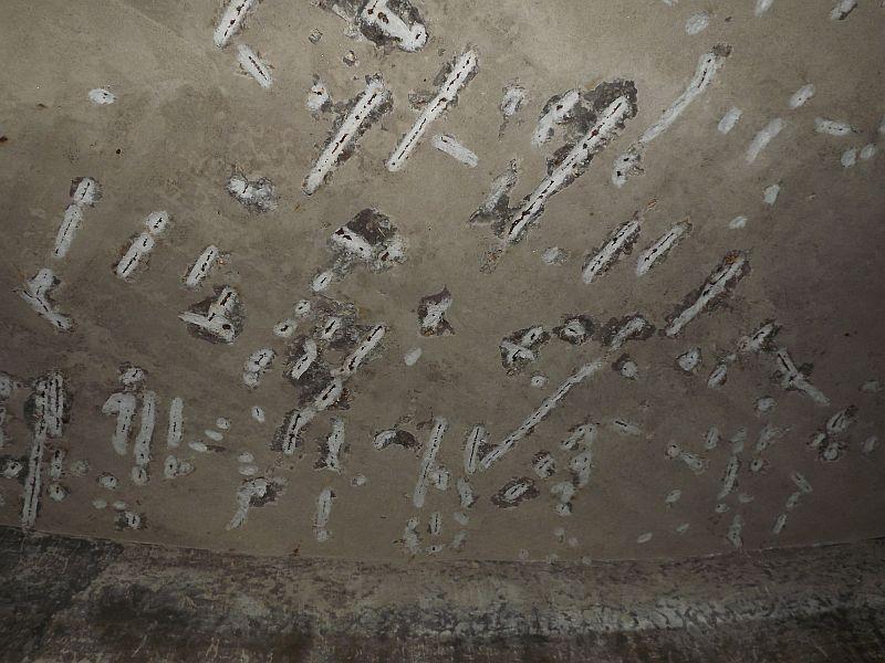 foto 6 decaparea in jurul firelor de armare