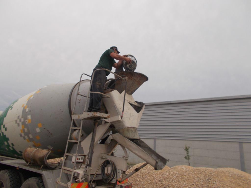 Hidroizolare radier hala de cereala