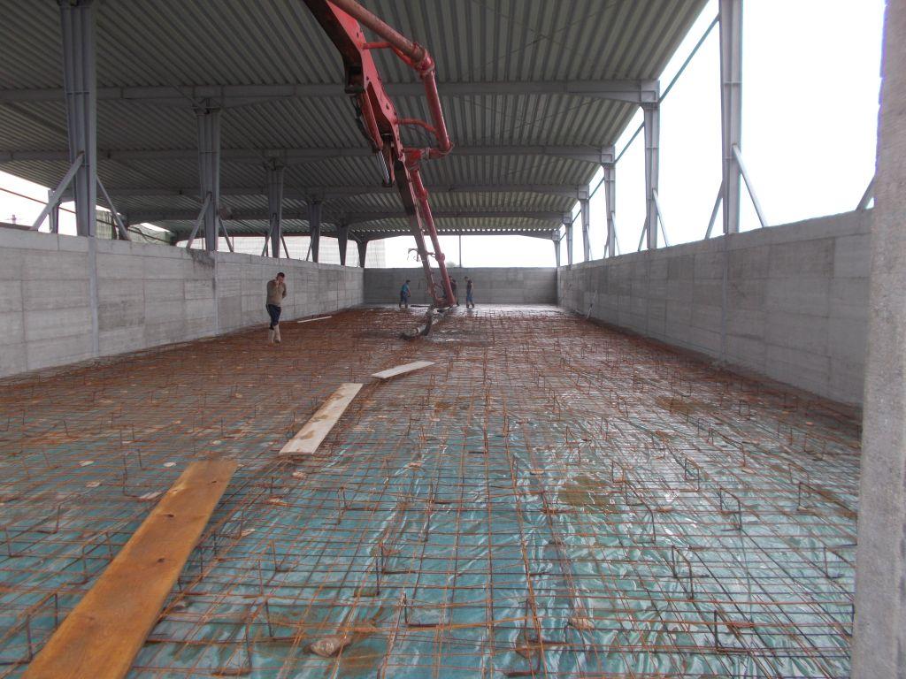 Hidroizolare pardoseala din beton
