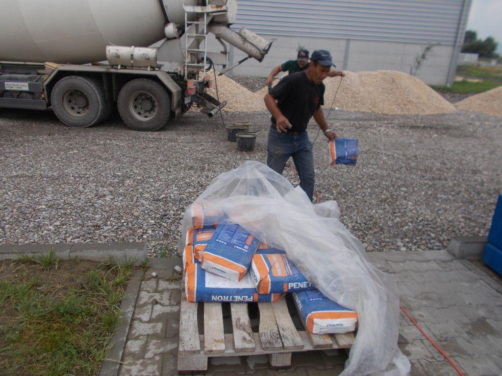 Pregatire material de hidroizolare