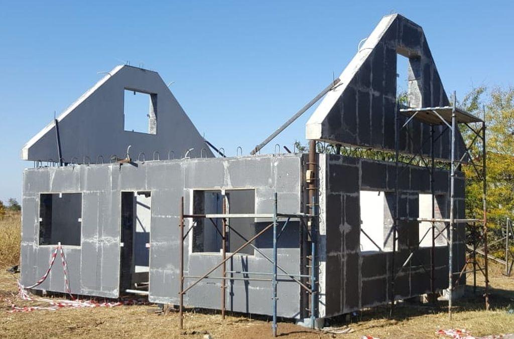 Impermeabilizare casa din elemente prefabricate