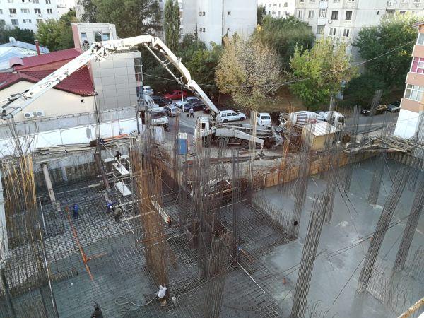 Hidroizolare direct in masa betonului