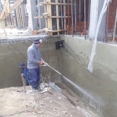 Spălarea suprafeței cu jet de apă