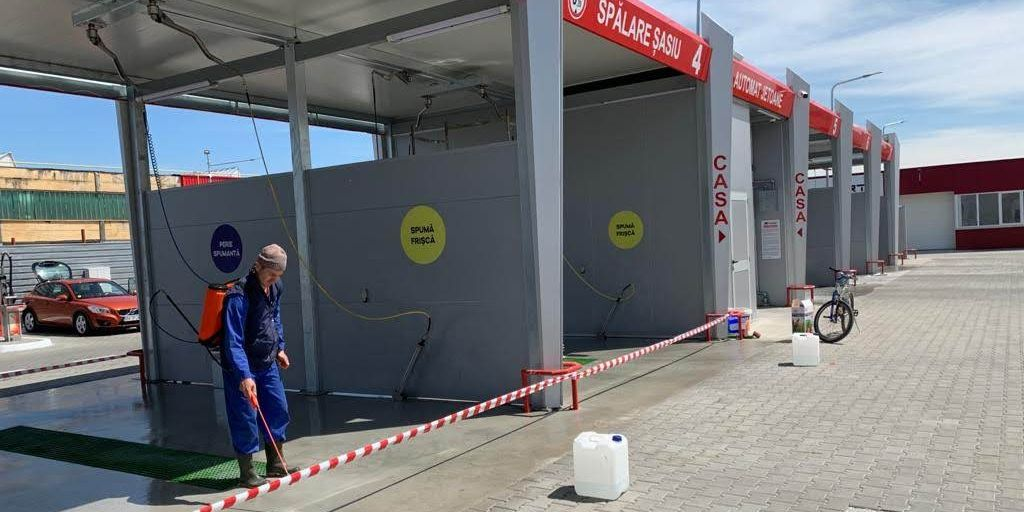 Spalatoria auto espres car wash