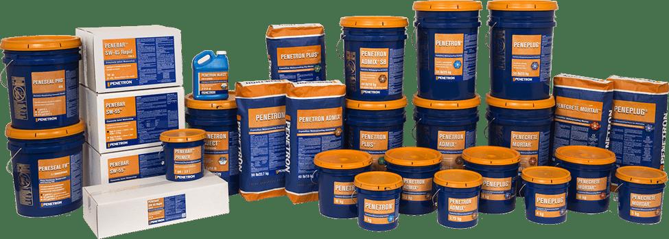 Produse de hidroizolare Penetron